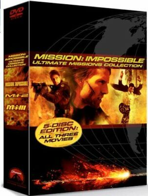 Mission Impossible: Ultimate Missions Collection (5 Disc Box Set) ... -  CD YEVG