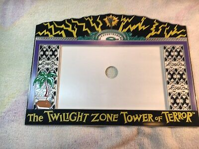 Tower Of Terror The Twilight Zone Plastic Elevator Picture Frame Mgm Studios