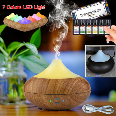 Ultrasonic Essential Oil Aroma Diffuser Air Humidifier Aromatherapy Air Purifier