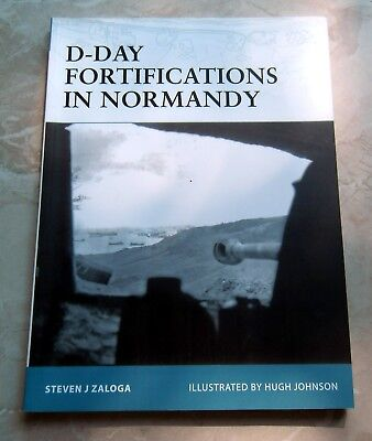 Osprey FORTRESS: D-DAY Fortifications in Normandy -  Invasion - Atlantikwall -