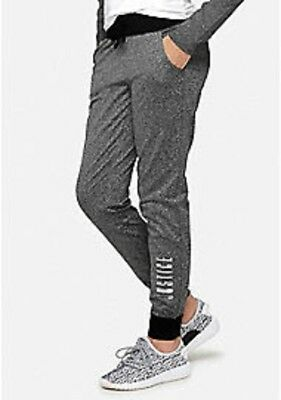 NWT Justice Girls Warm Wear Joggers Size 8  10 12 14