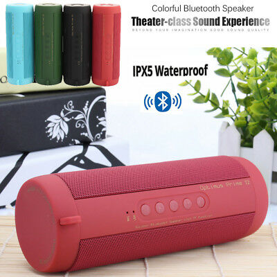 USB Wireless Bluetooth Portable Speaker Sound Stereo Subwoofer Support FM TF Mic