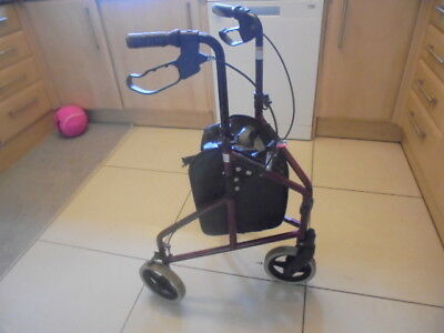 Rollator walking frame with brakes  expensive