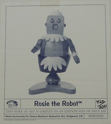 ESZ7634 Jetsons Maquette Statue ROSIE THE ROBOT L/E 420 of 500 (1996) SEALED