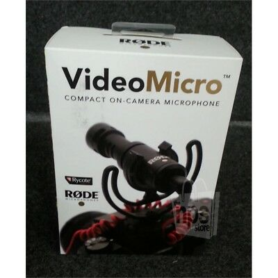 Rode Microphones VideoMicro Compact On-Camera Microphone Cardioid