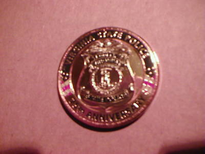 VIRGINIA STATE POLICE  75th ANNIVERSARY  1932 - 2007  CHALLENGE COIN  C