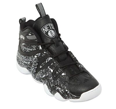low priced dfa13 45dea Adidas Crazy 8 Brooklyn Nets Trainers, Uk10, Blackwhite, S83938, Og