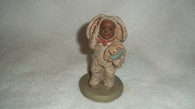 "1989 Martha Holcombe - All God's Children ""Bootsie""  #9 Figurine"