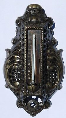 Nice Antique Thermometer Powers Regulator Co Chicago