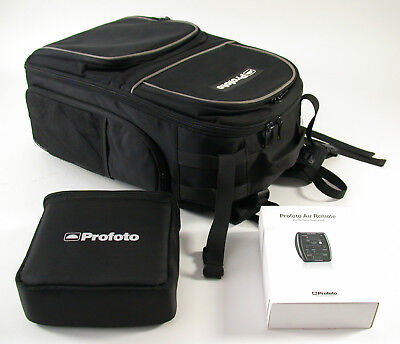 2x PROFOTO 500 AirTTL B1 mobile studio flash kit Air remote and more und mehr