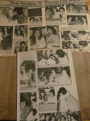 The Osmonds, Donny Osmond, Three Page Vintage Clipping, Brothers