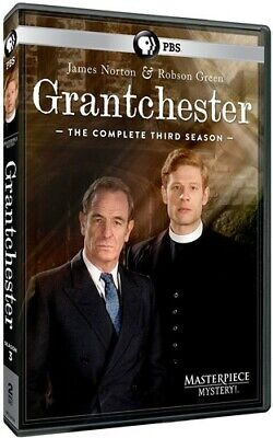 Grantchester: The Complete Third Season (Masterpiece) [New DVD]