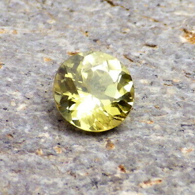 CHRYSOBERYL-BRAZIL 1.88Ct CLARITY SI2-LEMON YELLOW COLOR-TOP COLLECTOR GRADE!