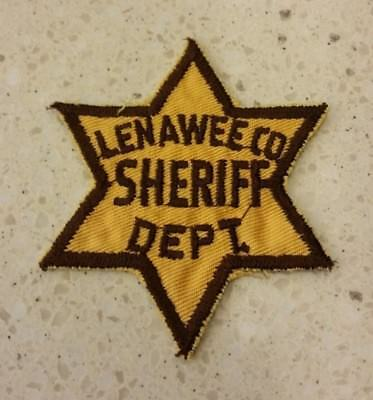 Lenawee County Michigan Sheriff's Department Patch MI