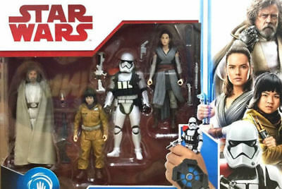 """Star Wars Episode VIII The Last Jedi 4-pack 3.75""""-Exclusive-NEW Sealed-FREE SHIP"""