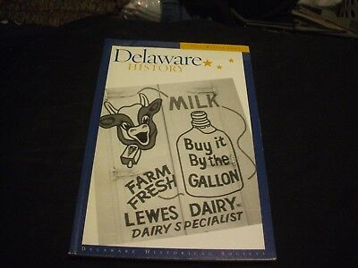 DELAWARE HISTORY Magazine Periodical - Fall-Winter 2007