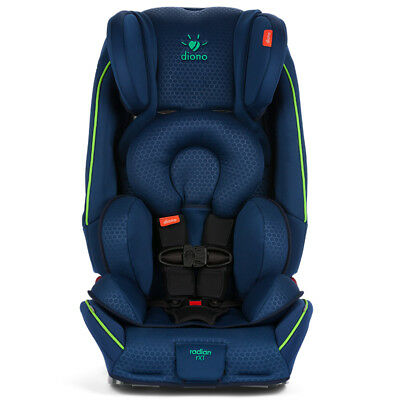 Diono 2018 Just My Color Radian RXT Convertible Car Seat in Blue Green New!!