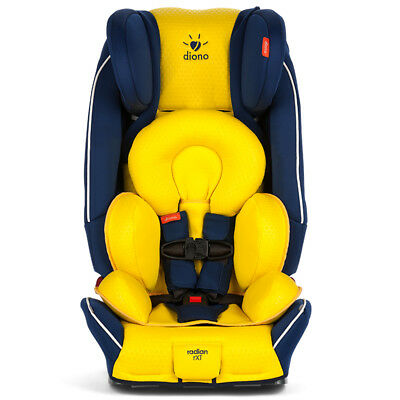 Diono 2018 Just My Color Radian RXT Convertible Car Seat in Blue Yellow New!!