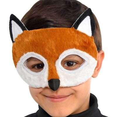 Fox Gruffalo Mask Plush Elastic Fancy Dress Unisex party book week nursery