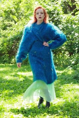 NEW MOHAIR SWEATER with MOHAIR SWEATER COAT