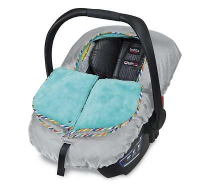 Britax B-Warm Insulated Infant Car Seat Cover In Arctic Splash New Free Shipping