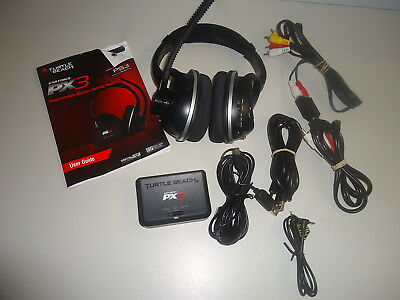 Turtle Beach Ear Force Px3 Programmable Wireless Gaming Headset