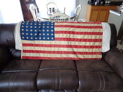 "Origional United States **48 Star Flag**   57"" x 30"""