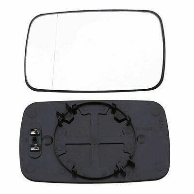 for BMW E46 97-2003 Door RearView Mirror Glass Heated Left Driver Side US STOCK