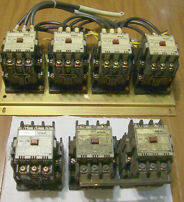 Fugi relays SC 2N for three phase has 14 terminals plus two for 110 VAC input