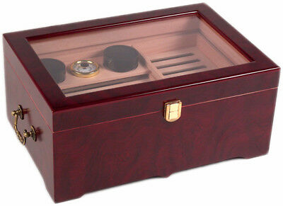 150 ct TOP DISPLAY DELUXE CIGAR HUMIDOR BOX - NEW