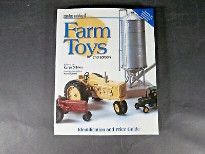 Standard Catalog of FARM TOYS Identification and Price Guide Collector Book