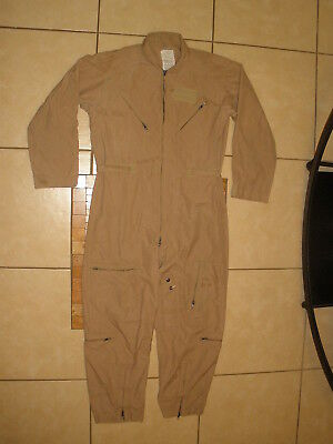 CWU-27/P USAF AIRFORCE FLAME RESISTANT NOMEX Flight flyers Summer COVERALLS 44R