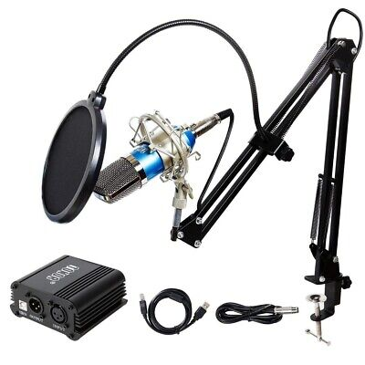 TONOR Pro Condenser Microphone XLR to 3.5mm Podcasting Studio Recording Mic Kit