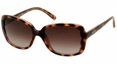 60b208f589dc New Valentino V608S 215 Brown Havana Frame Gradient Lenses Sunglasses