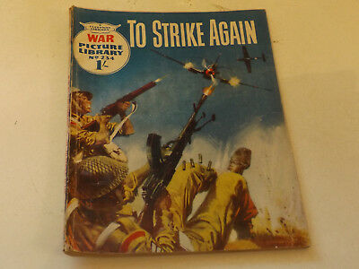 WAR PICTURE LIBRARY NO 234!,dated 1964!,GOOD for age,great 54!YEAR OLD issue.