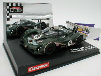 "Carrera Evolution 25452 - Bentley EXP Speed 8 "" Le Mans 2001 "" 1:32 ab 1 ,- €"
