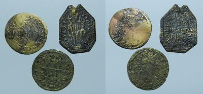 3 Old & Unusual - Medals / Tokens / Charms - For Id