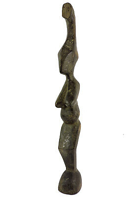 Djimini Female Figure Abstract Do Society Ghana African Art SALE WAS $210