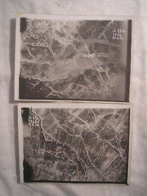 German Air Force Artillery Aerial Recce Photos Somme Western Front History 1916