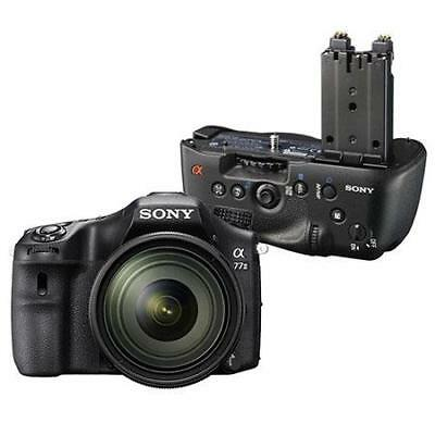 Sony Alpha A77II DSLR Camera Bundle with Sony VG-C77AM Grip. Value Kit with Acc