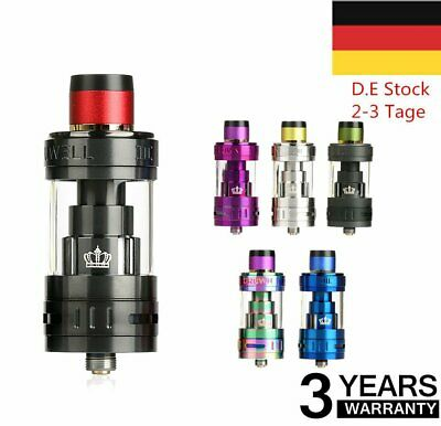 UWELL Crown 3 Sub Ohm Tank Atomizer Clearomizer Farben Tank / Coil 5ml FT-DE