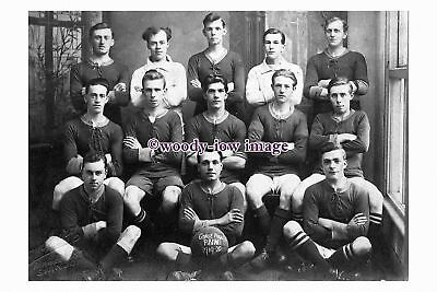 "rs1127 - Gorse Hill Prims Football Team 1919 , Swindon - photograph 6""x4"""
