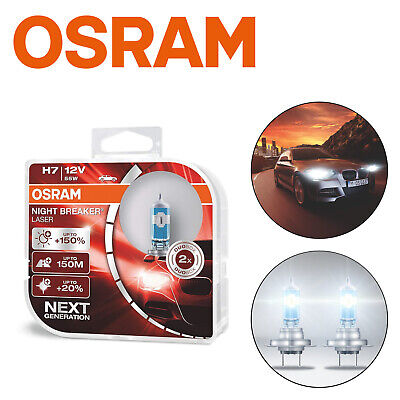 Osram H7 12V 55W PX26d Night Breaker LASER NEXT GENERATION 150% 64210NL-HCB