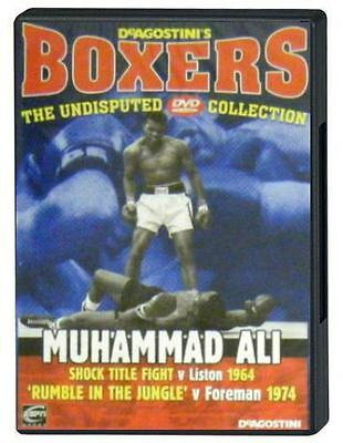 DVD Muhammad Ali vs. Sonny Liston 1964; Rumble in the Jungle 1974 George Foreman