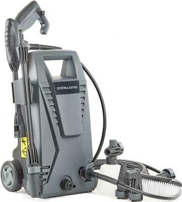 Andrew James Pressure Washer with 5 Accessories 6m Hose & 5m Power Cable