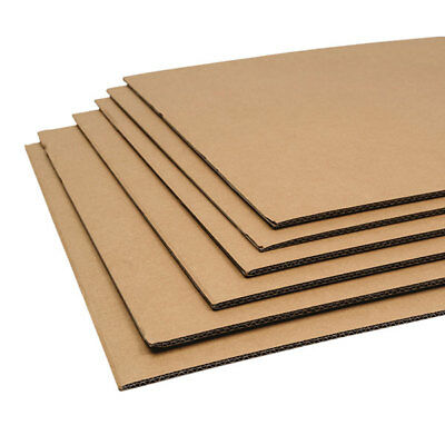 Double And Single Wall Cardboard Sheets Art Craft Board 800mm X