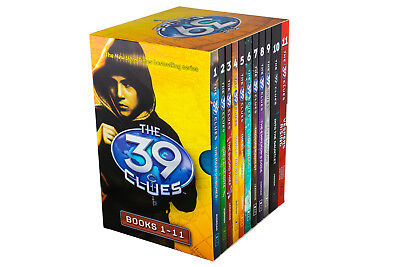 The 39 Clues Series 11 Book Collection, The Maze of Bones, One False Note, The S