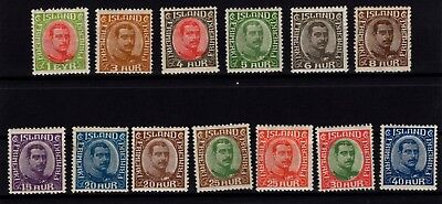 P79540 / Islande / Iceland / Scott # Lot 1920 / 1922 Neufs * / Mint Mh 290 €