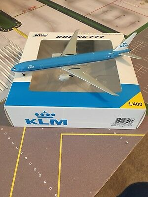 Witty Wings KLM 777-300ER in 1/400 Scale