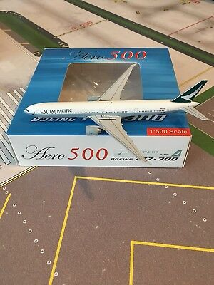 Aero 500 Cathay Pacific 777-300 in 1/500 Scale